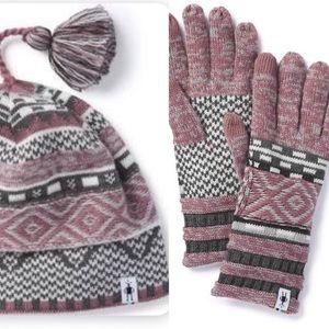 Wool Hat & Glove Set